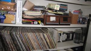 """shelves full of """"stuff"""""""